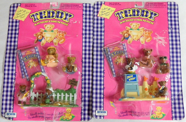 Teddy in my Pocket Sealed Figures