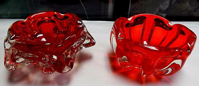 Retro Art Glass Bowls