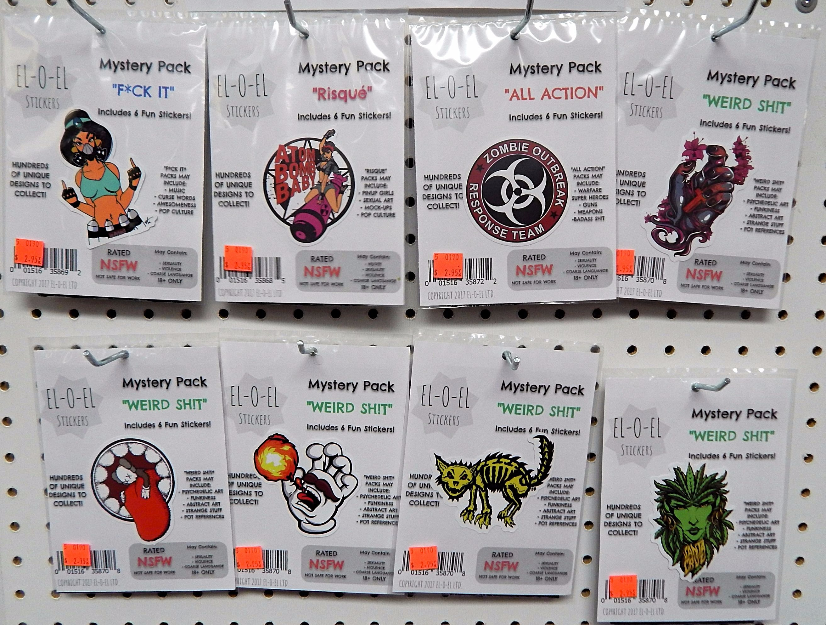 El-O-El Sticker Mystery Packs