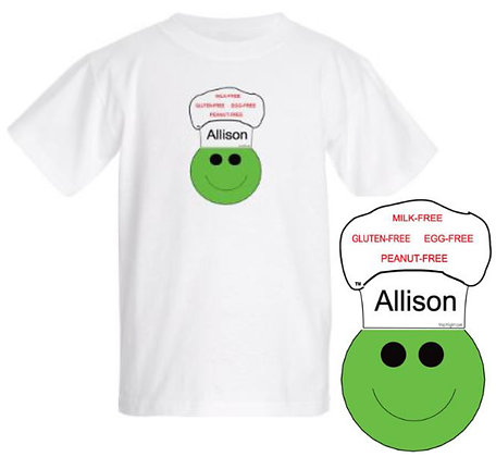 WHITE:  Personalized T-Shirt