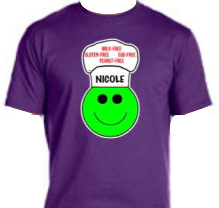 PURPLE:  Personalized T-Shirt