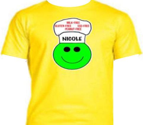 YELLOW:  Personalized T-Shirt