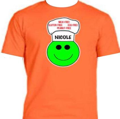 ORANGE:  Personalized T-Shirt