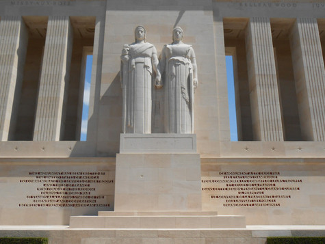 MONUMENT AMERICAIN COTE 204 ET MUSEE