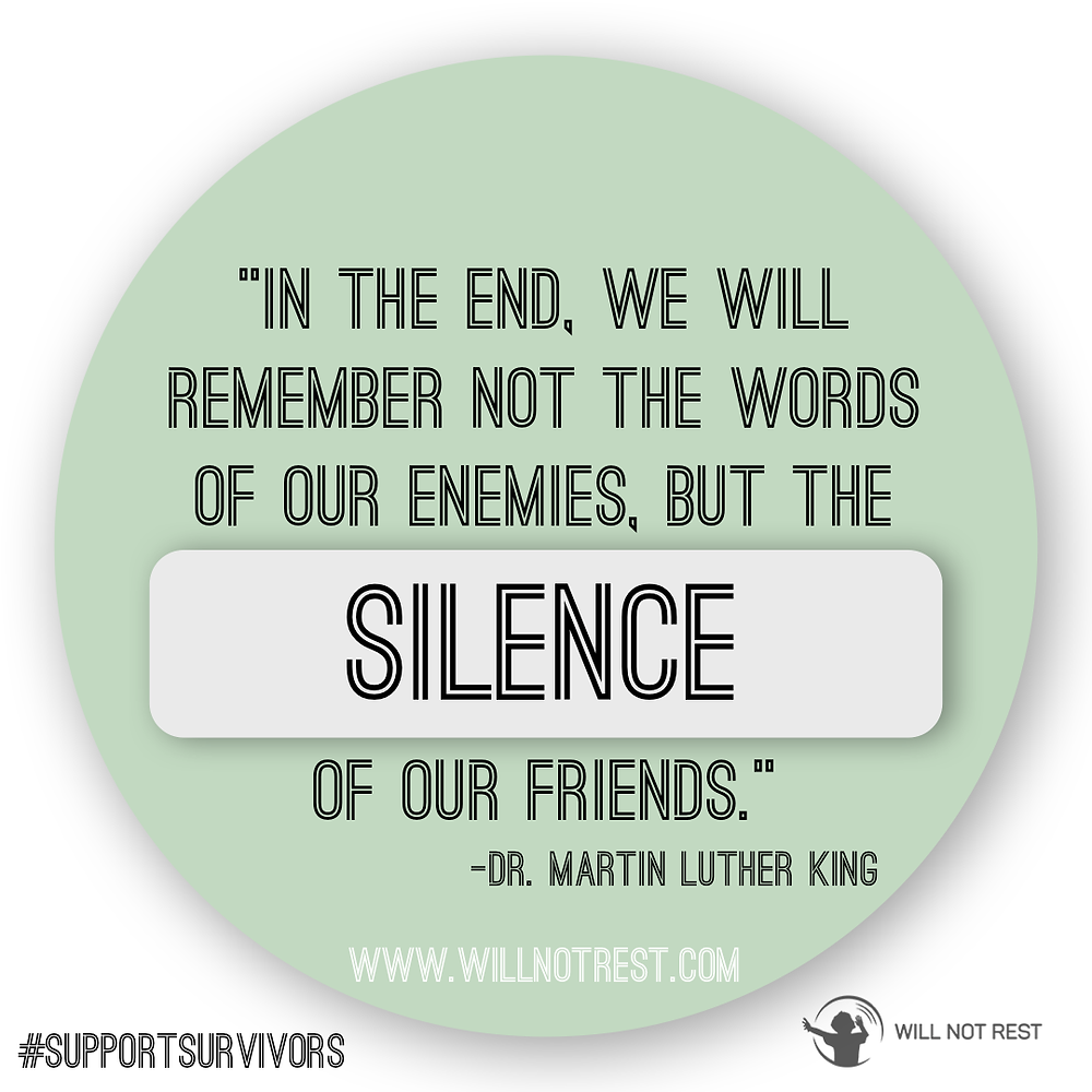 Will Not Rest  |  Martin Luther King Jr.  |  Betrayed By Silence