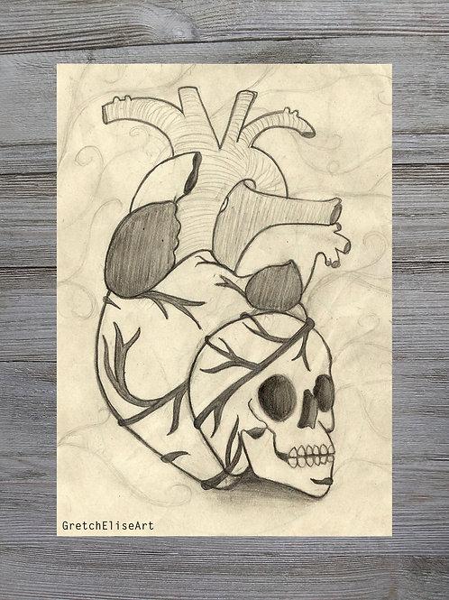 Heart-Skull