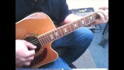 Oh, Danny Boy - Elvis Style Guitar Tab