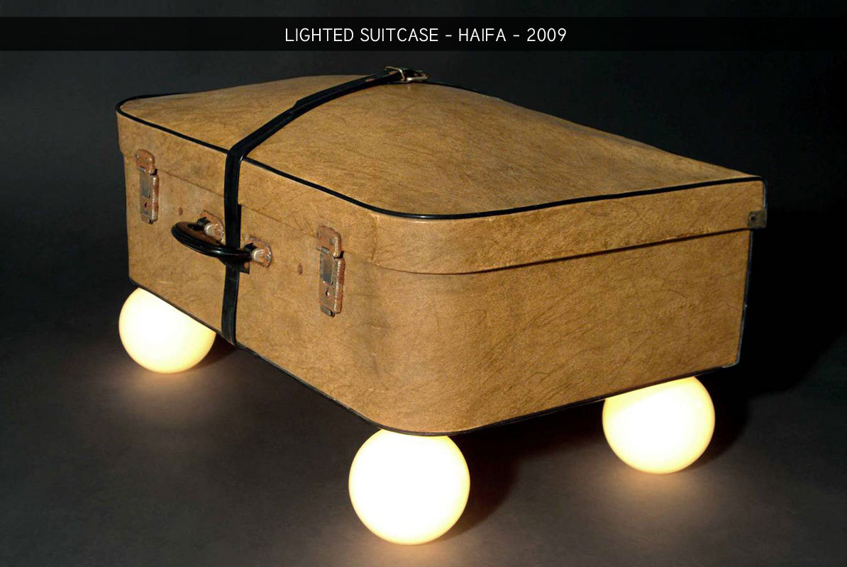 Lighted Suitcase
