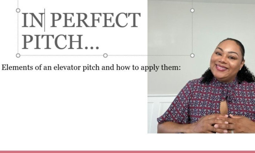 In Perfect Pitch: Elements of an Elevator Pitch and How to Apply Them