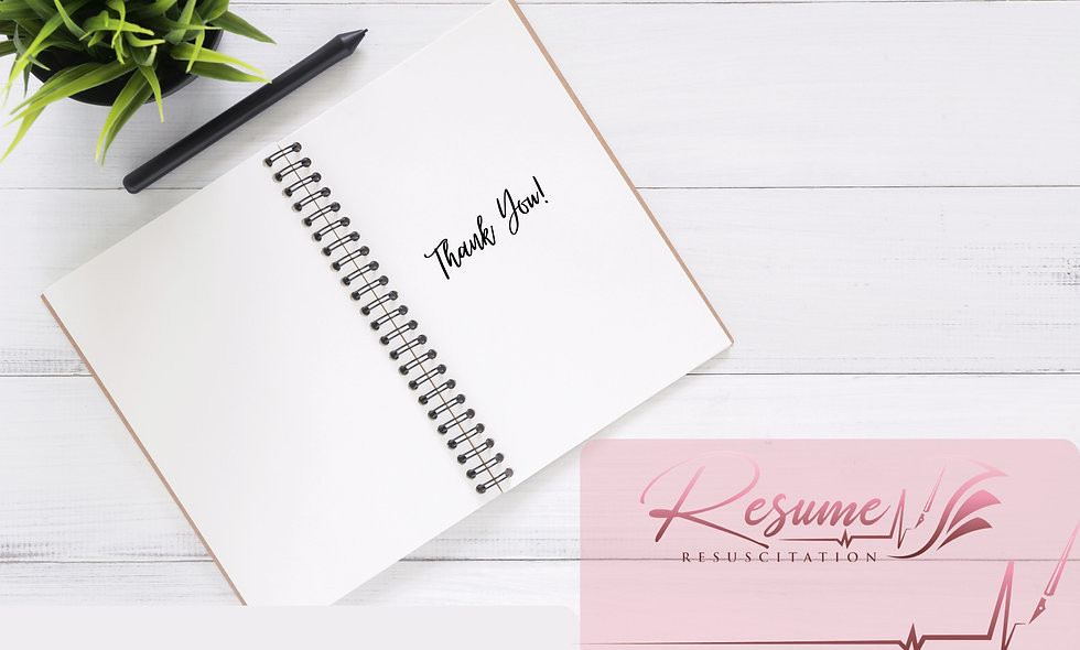 Basic Thank You Letter Template