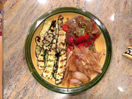 Massimo's Grilled Zucchini