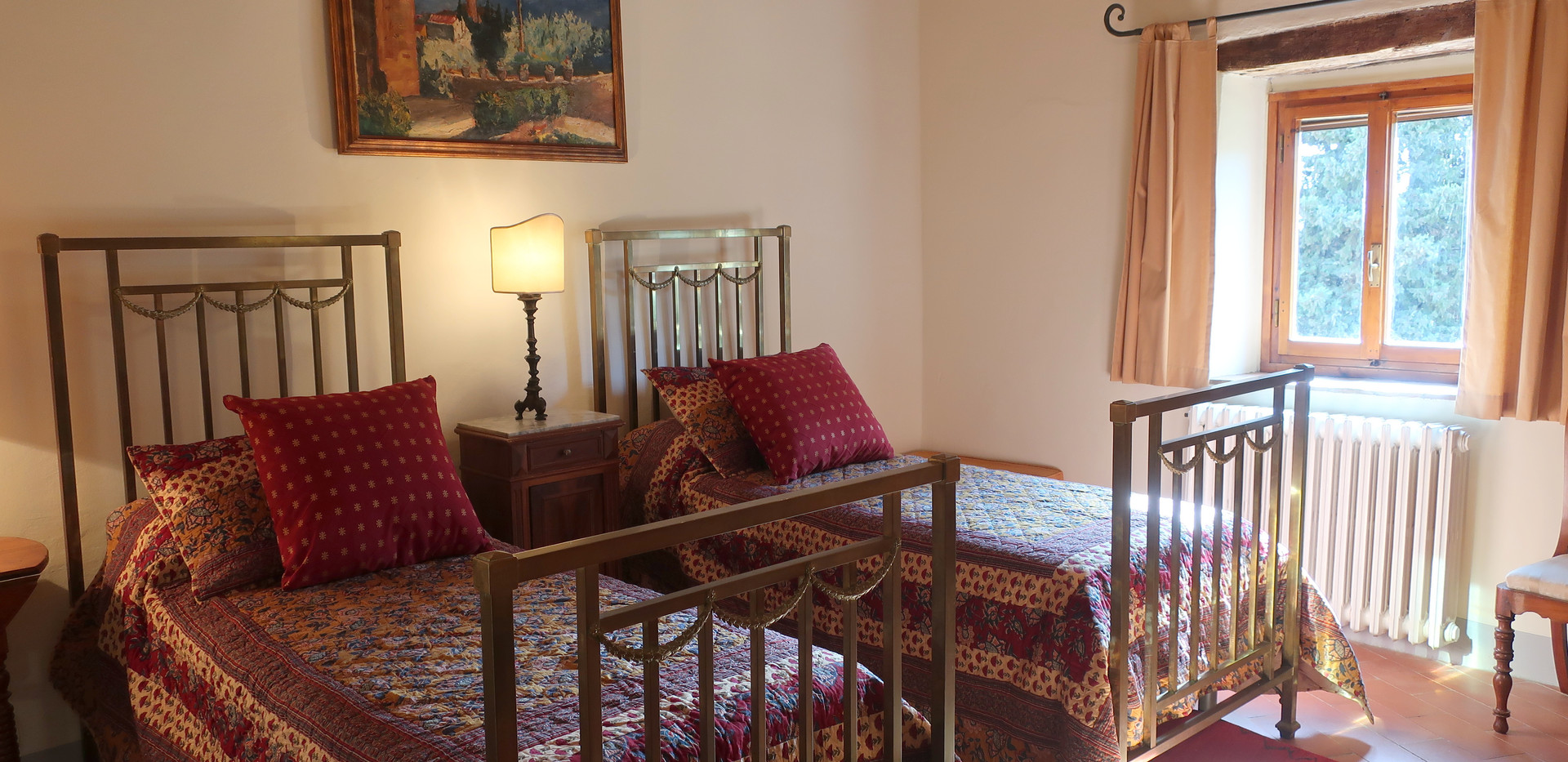 Gelsomino twin bedroom