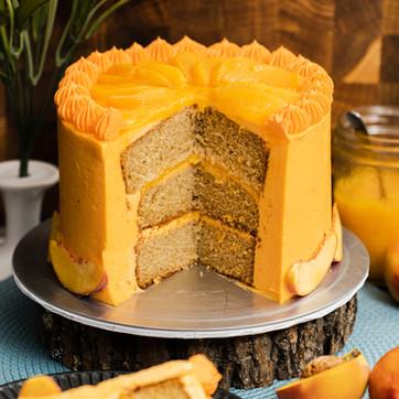 Peach Brown Sugar Cake