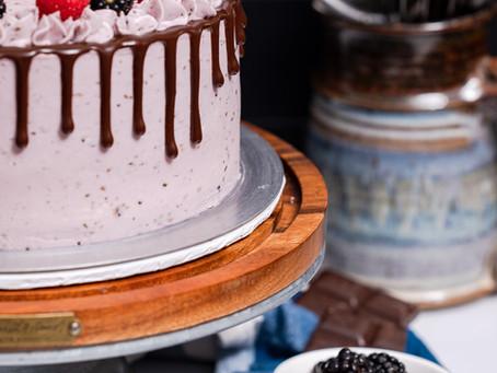 Blackberry Dark Chocolate Cake