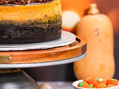 OREO Pumpkin Cheesecake
