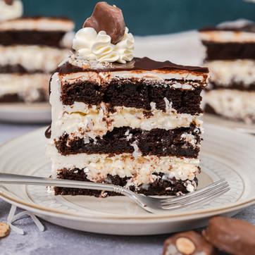 Almond Joy Coconut Cake