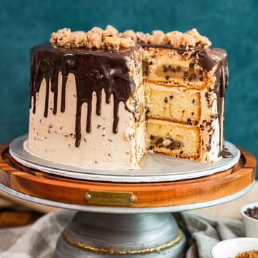 Cookie Dough Layer Cake