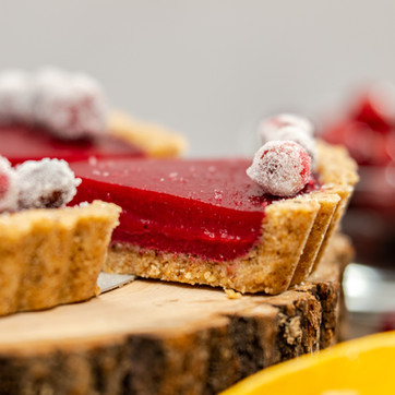 Cranberry-Orange Walnut Tart
