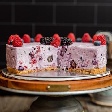 No-bake Berry Cheesecake