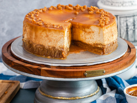 Best Salted Caramel Cheesecake