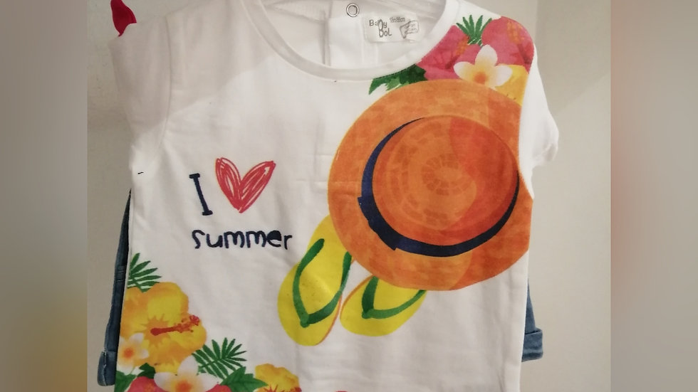 Summer shorts set