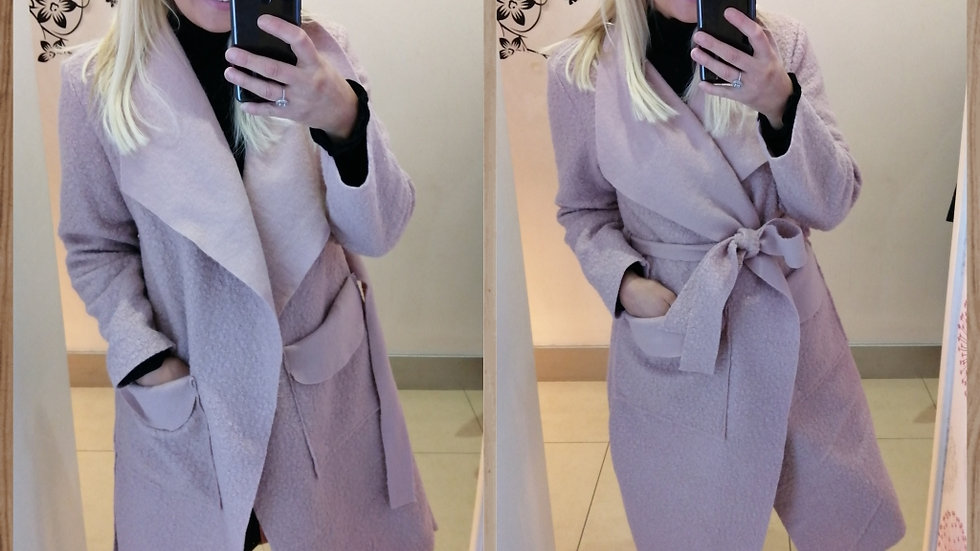 Felt Duster style coat  Medium Weight