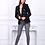 Thumbnail: Toxiq Jeans light navy and marl grey