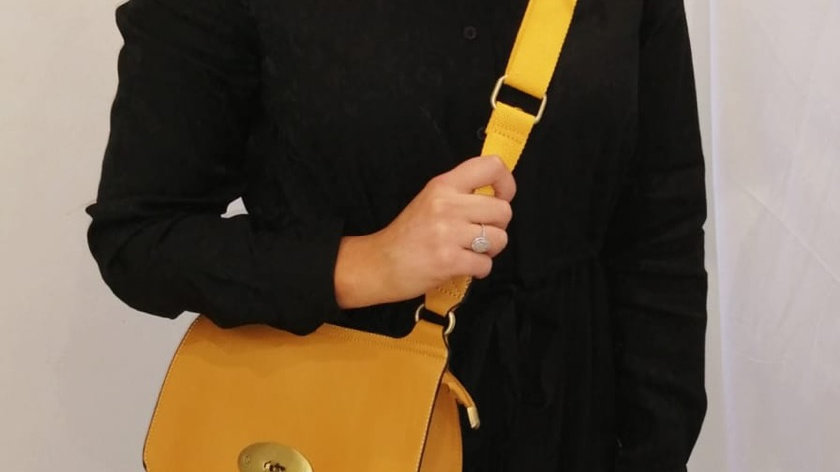 Val tote bag - yellow
