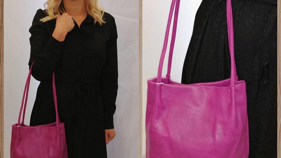 Margo Cerise Bucket Bag