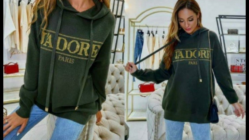 J'Adore Hoody - forest green