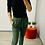 Thumbnail: Green animal print joggers