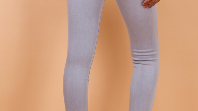 Toxiq Jeans Light grey and white