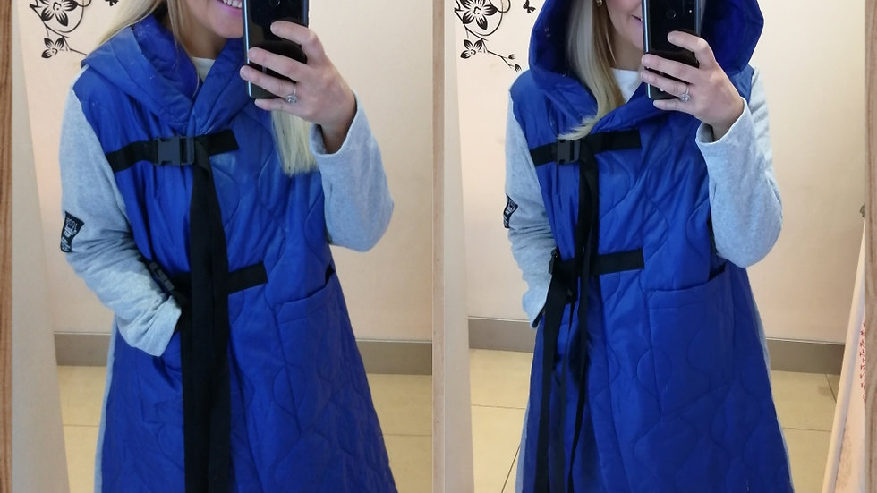 Annie Coat Blue