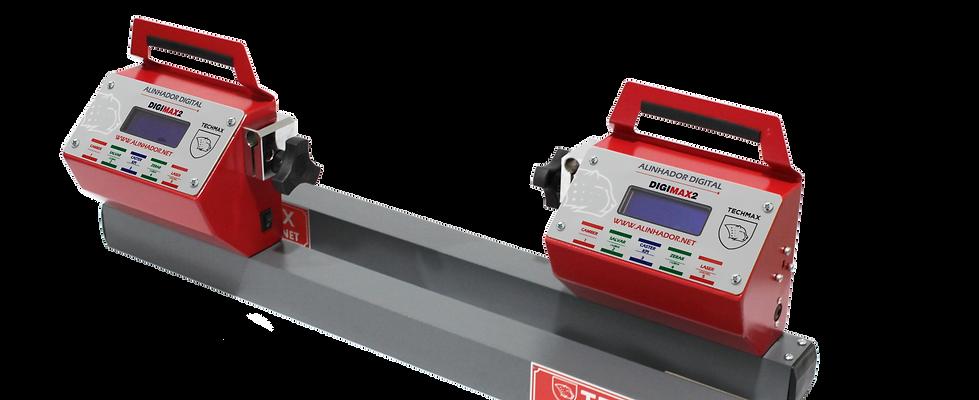 1- ALD1 - Alinhador Digital S/ Rack 2 Cabeças