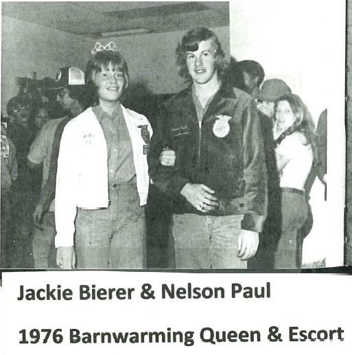 Jackie Bierer 1976 Barnwarming Queen