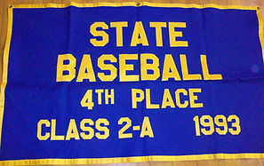 State Baseball 4th Place Banner