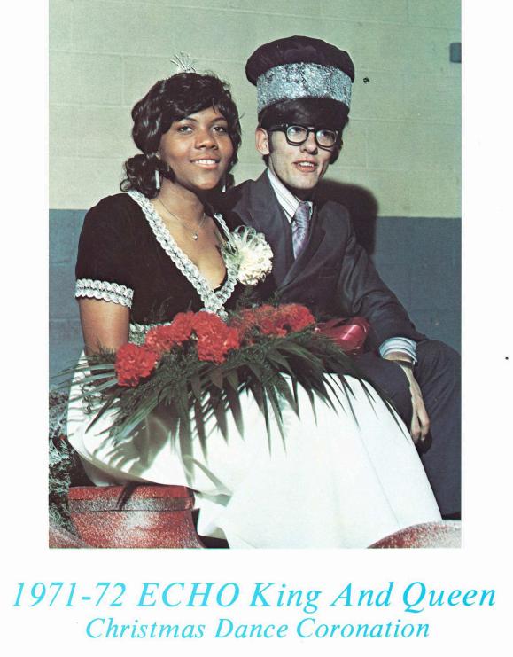 1971-72 Echo King & Queen