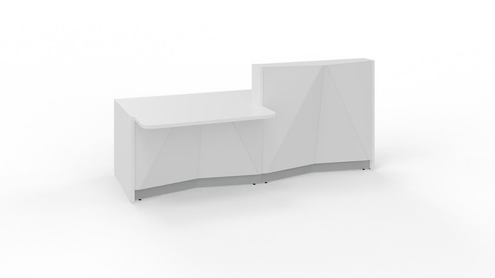 """ALPA Reception Desk ALP21P - 96 6/8"""""""