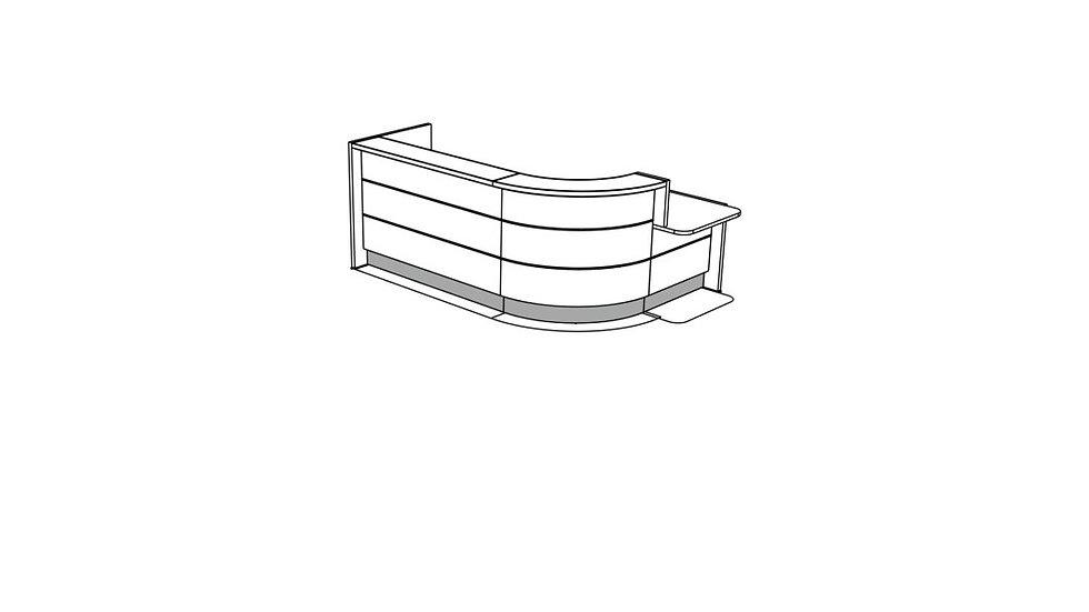 VALDE Reception Desk LAV1431L