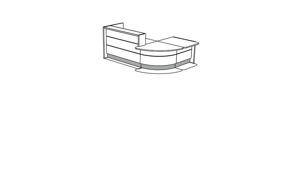 VALDE Reception Desk LAV1131L