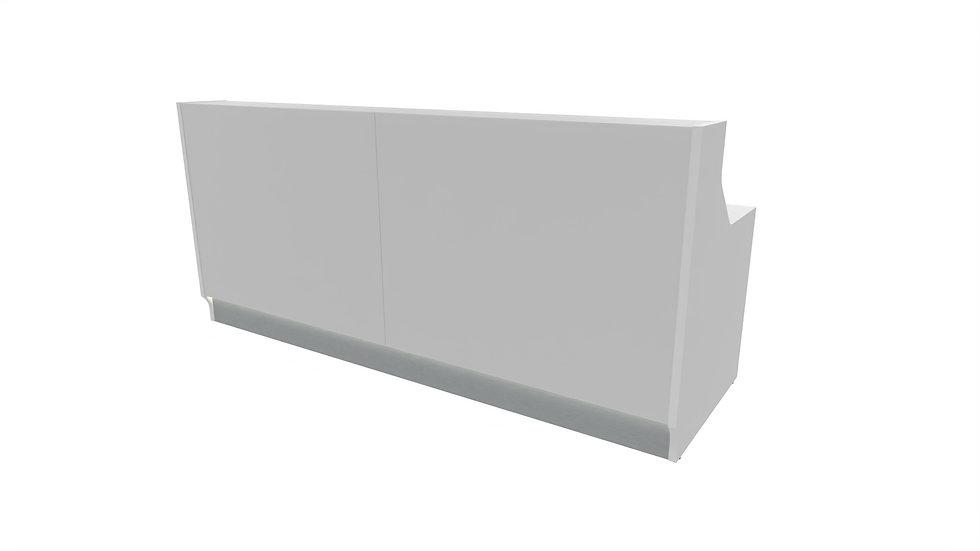 "LINEA Reception Desk LIN25 -  96 6/8"" Length"