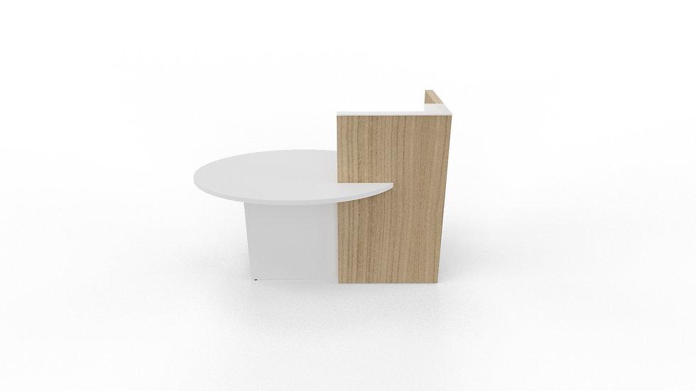 "OVO Reception Desk LOP10 - 61"" Length"