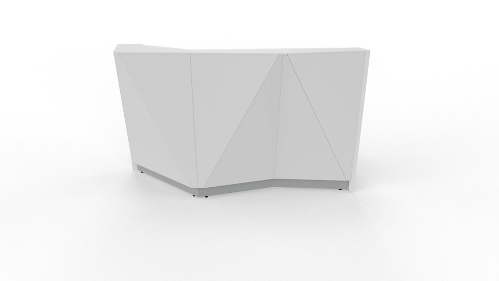"""ALPA Reception Desk ALP04P - 72 1/4"""" Length"""