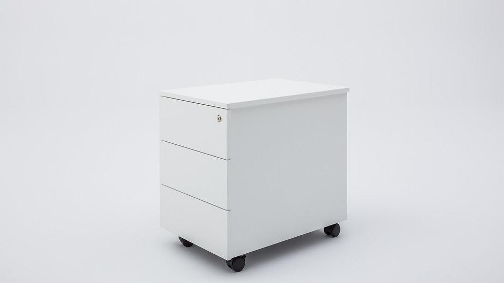 MODERN MOBILE PEDESTAL - 3 DRAWER