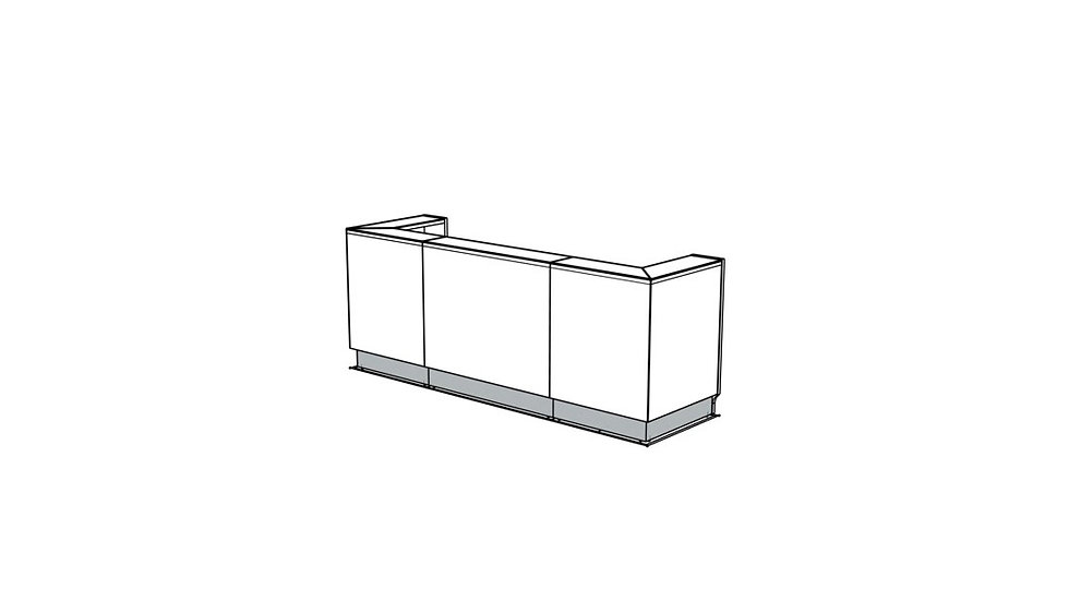 LINEA Reception Desk LIN43 - 112""
