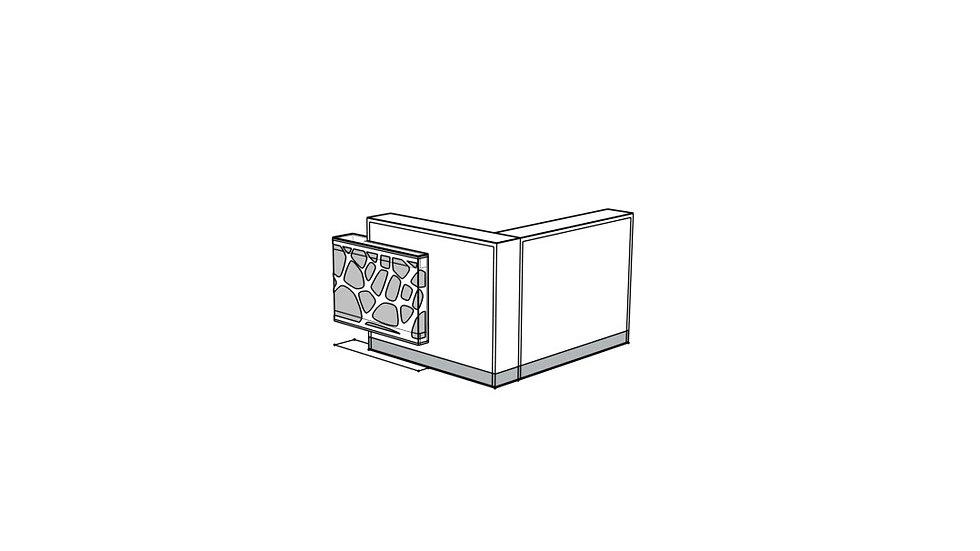 ORGANIC Reception Desk LOG16PG
