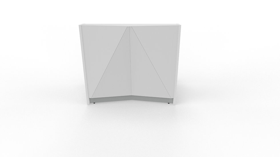 "ALPA Reception Desk ALP05 - 49 1/2"" Length"