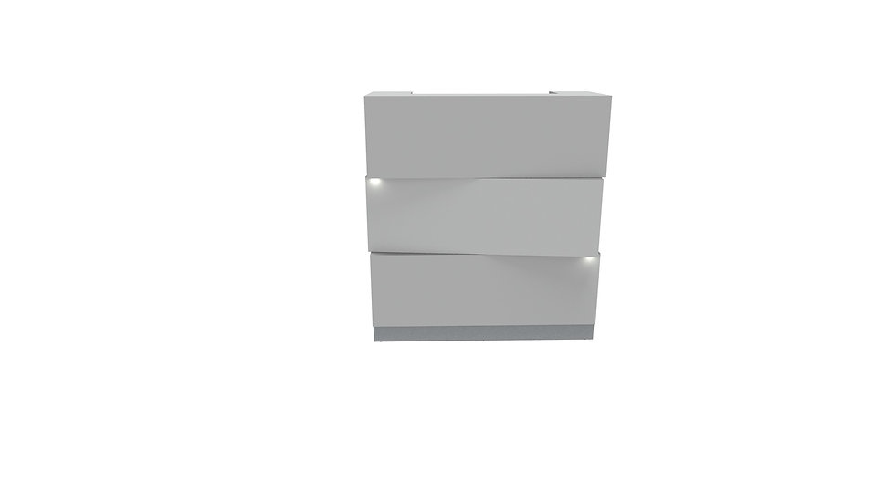 ZEN Reception Desk LZE10 - 44 5/8""