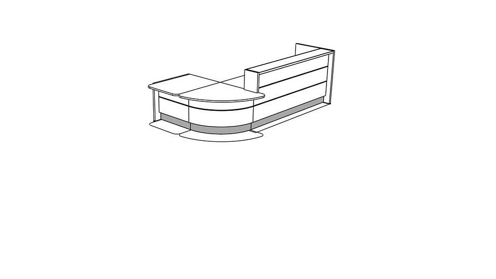 VALDE Reception Desk LAV1141L