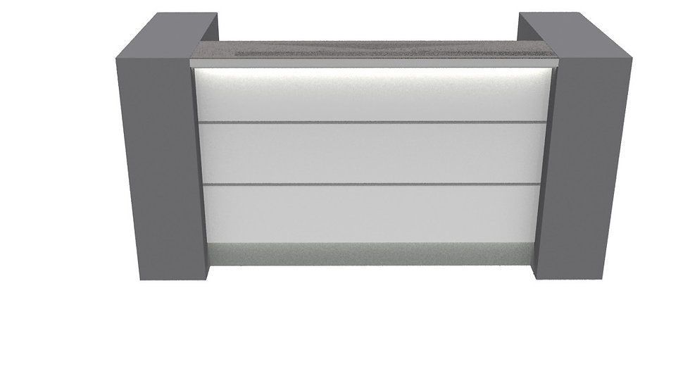 "VALDE Reception Desk LAV01L - 75 7/8""Length"